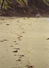 2010 Paar am Strand